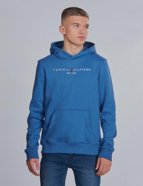 Tommy Hilfiger barnkläder - ESSENTIAL LOGO HOODIE