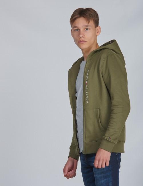 Tommy Hilfiger barnkläder - ESSENTIAL FULL ZIP HOODIE