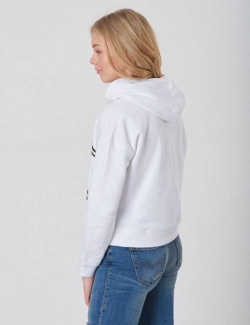 Tommy Hilfiger - KNITTED TAPE HOODIE