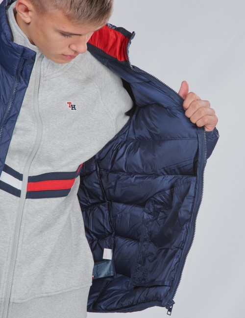 Tommy Hilfiger barnkläder - U LIGHT DOWN JACKET
