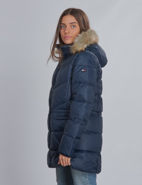 Tommy Hilfiger barnkläder - DG ESSENTIAL  DOWN COAT