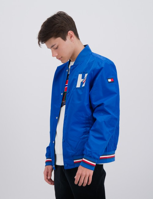 REVERSIBLE TH LOGO  BOMBER