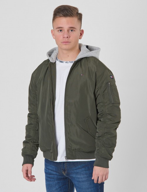 Tommy Hilfiger barnkläder - ESSENTIAL HOODED BOM
