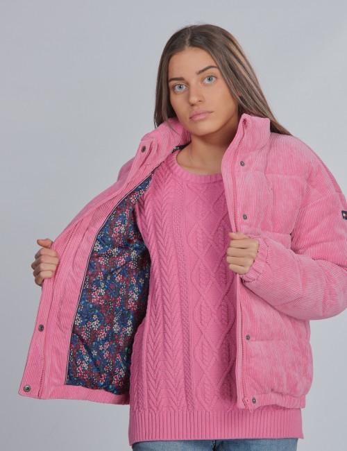 Tommy Hilfiger barnkläder - CORDUROY BOXY PUFFER