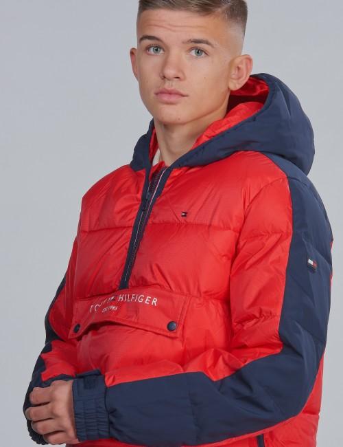 Tommy Hilfiger barnkläder - MIXED POPOVER JACKET