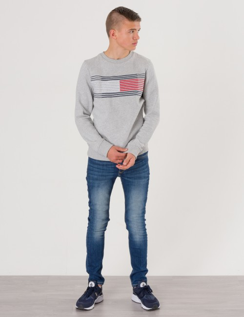 Tommy Hilfiger barnkläder - SCANTON SLIM VMW VERMONT MID WASH