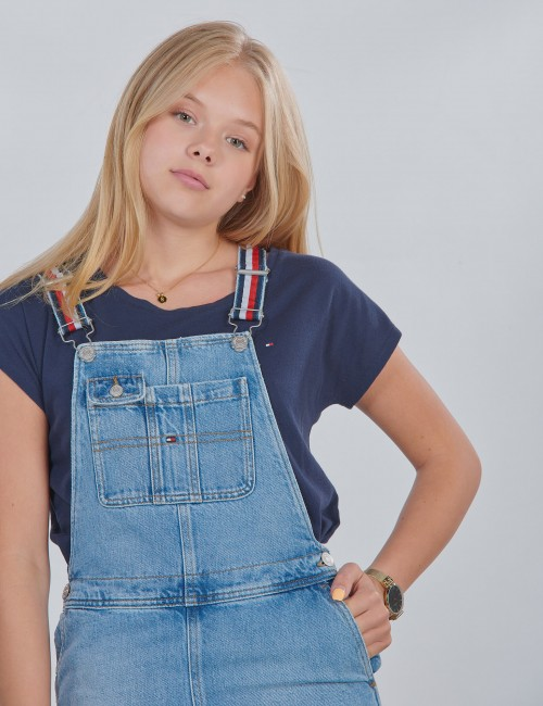 Tommy Hilfiger barnkläder - DUNGAREE DRESS LBBR
