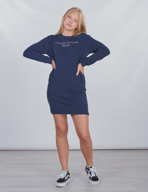 Tommy Hilfiger barnkläder - CREW SWEATSHIRT DRESS