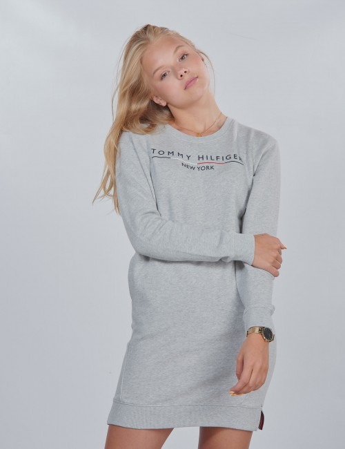 Tommy Hilfiger barnkläder - CREW SWEATSHIRT DRESS