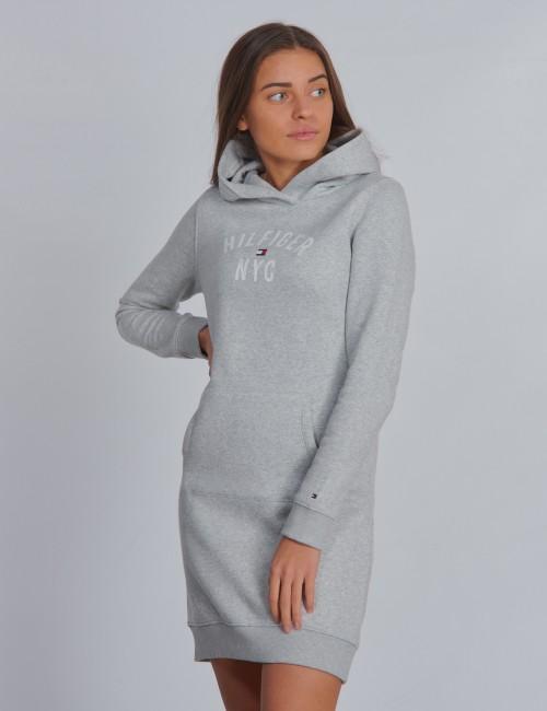 Tommy Hilfiger barnkläder - ESSENTIAL HOODIE SWEATDRESS