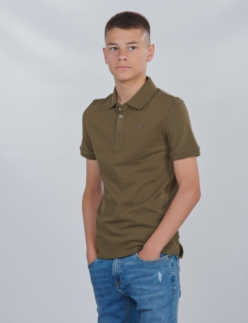 Tommy Hilfiger barnkläder - ESSENTIAL SLIM POLO S/S