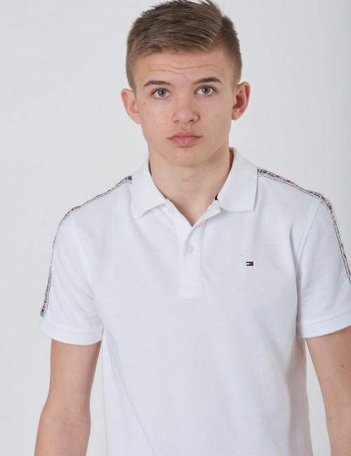 Tommy Hilfiger barnkläder - FLAG TAPE POLO S/S