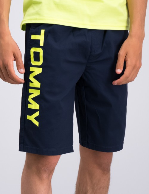 PULL ON HILFIGER LOGO SHORT