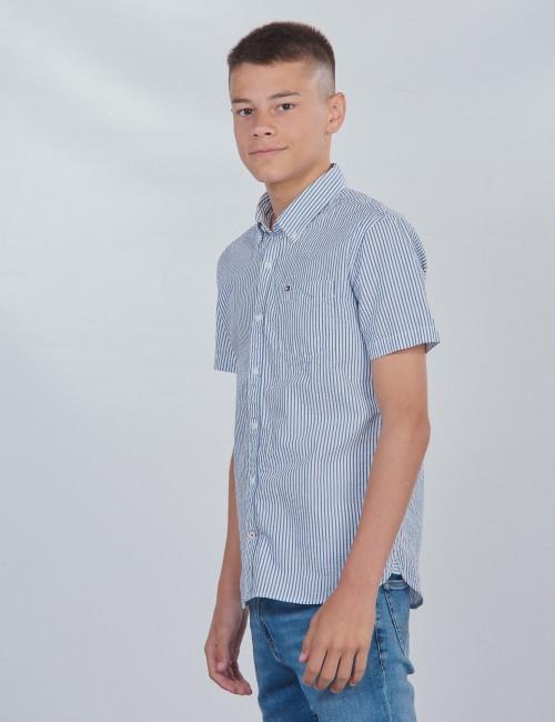 Tommy Hilfiger barnkläder - SEERSUCKER SHIRT S/S