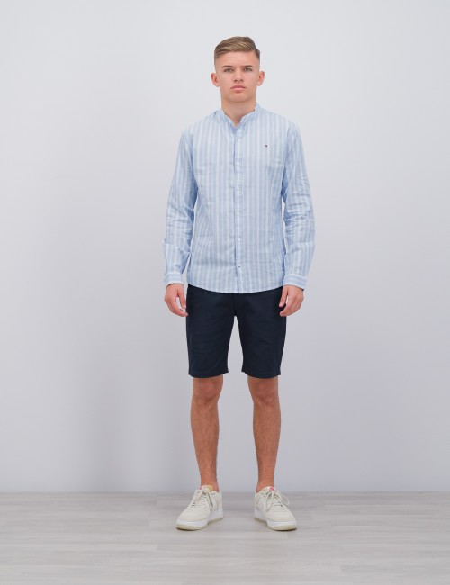 Tommy Hilfiger barnkläder - STRIPED LINEN SHIRT