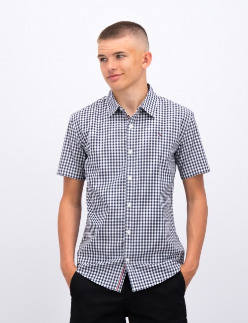 SLUB GINGHAM SHIRT