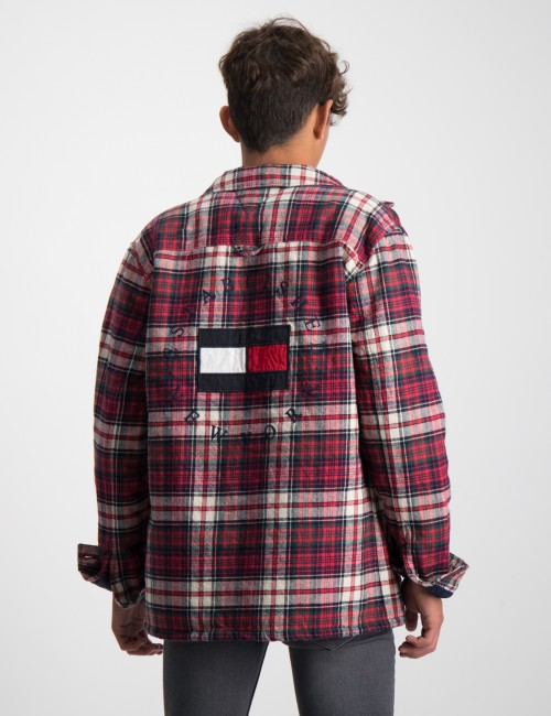 TEDDY CHECK JACKET