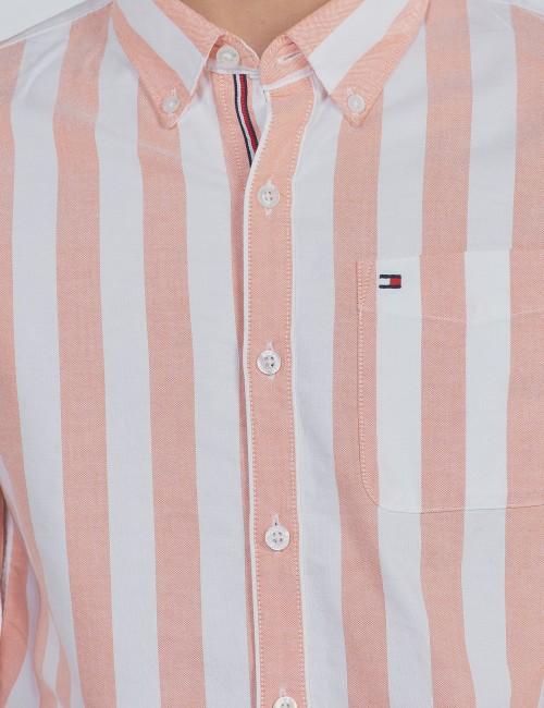 Tommy Hilfiger barnkläder - OXFORD STRIPE SHIRT L/S