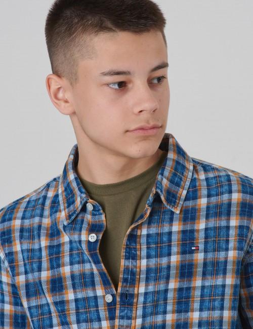 Tommy Hilfiger barnkläder - SOFT CHECK SHIRT L/S