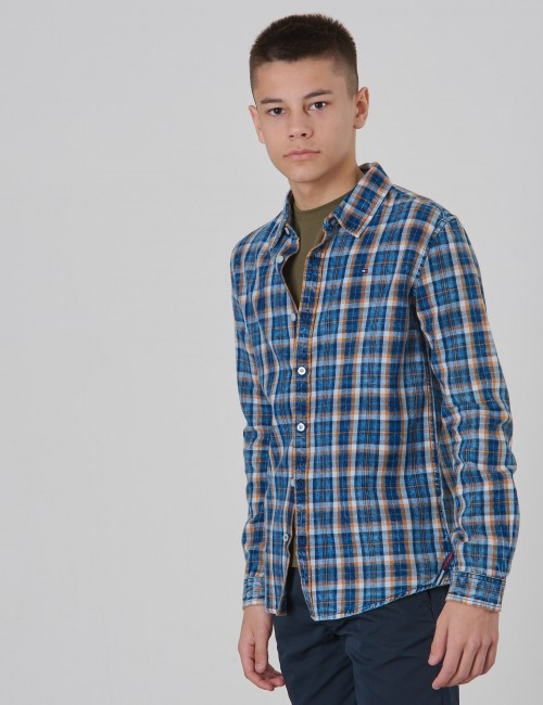 SOFT CHECK SHIRT L/S