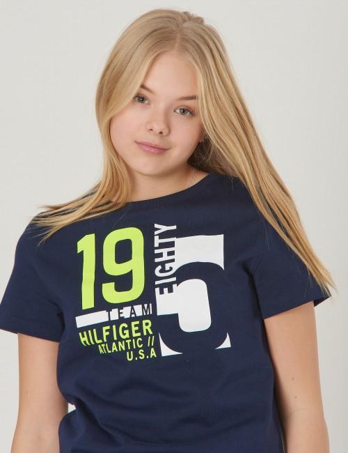 Tommy Hilfiger barnkläder - NAUTICAL TEAM TEE