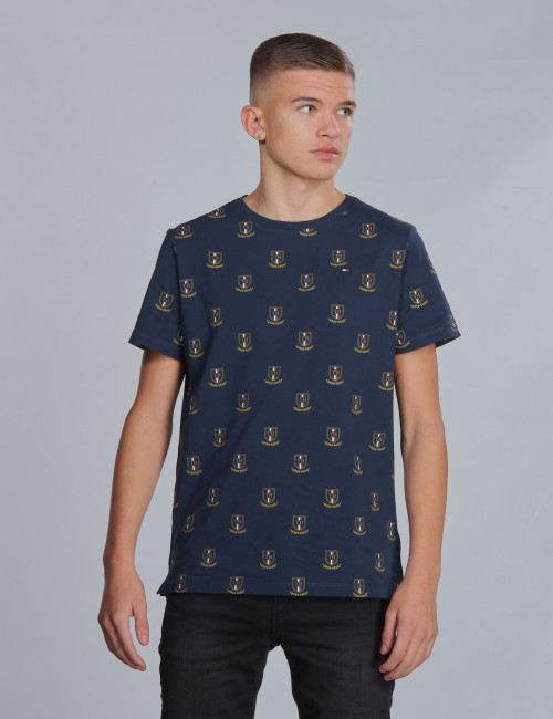 Tommy Hilfiger barnkläder - U ALL OVER CREST TEE