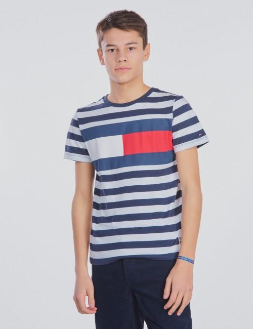 Tommy Hilfiger barnkläder - CUT & SEW STRIPE TEE