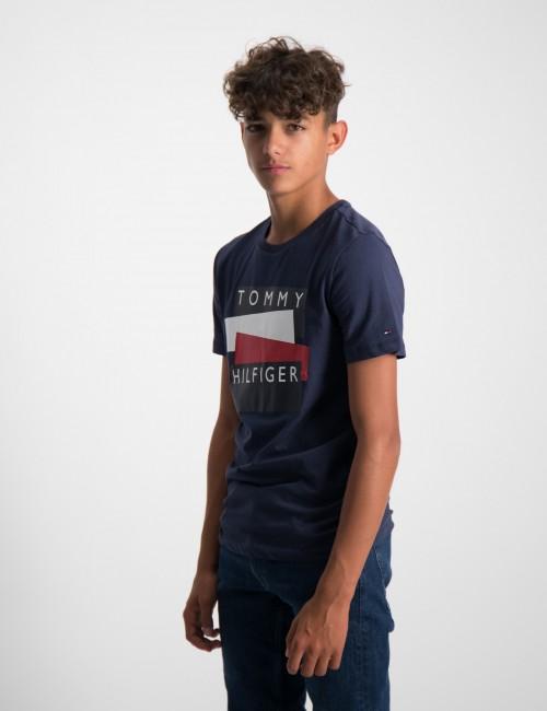Tommy Hilfiger barnkläder - TOMMY HILFIGER STICKER TEE S/S