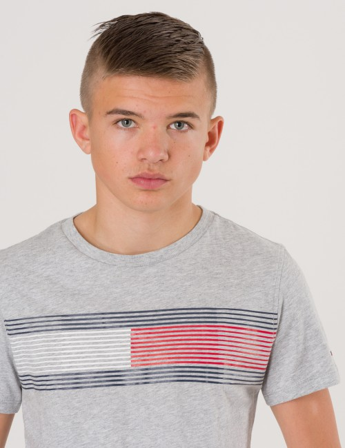 Tommy Hilfiger - ESSENTIAL FLAG TEE S