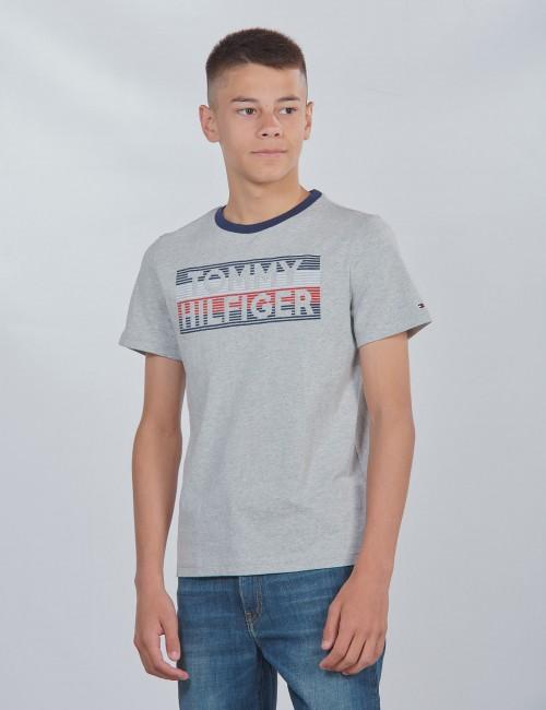 Tommy Hilfiger barnkläder - LOGO EMBROIDERED TEE S/S