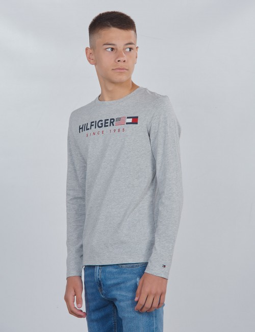 Tommy Hilfiger barnkläder - FLAGS GRAPHIC TEE L/S