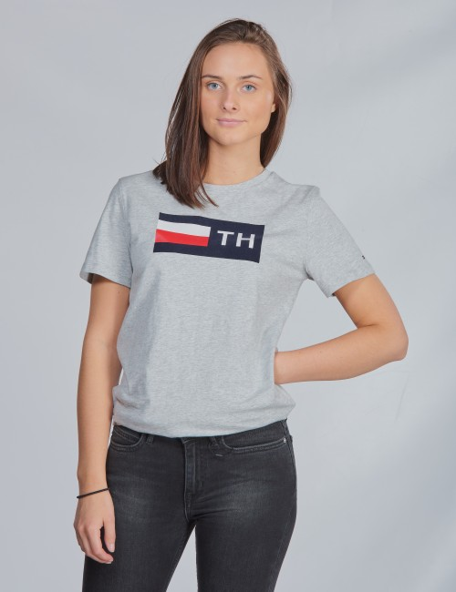 Tommy Hilfiger barnkläder - FLOCK TEE