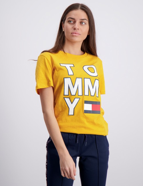 Tommy Hilfiger barnkläder - MULTI APPLICATION AW TEE