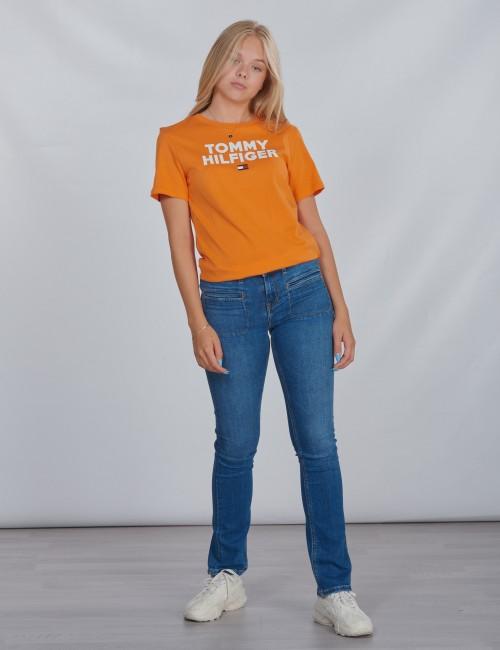 Tommy Hilfiger barnkläder - LOGO TEE S/S