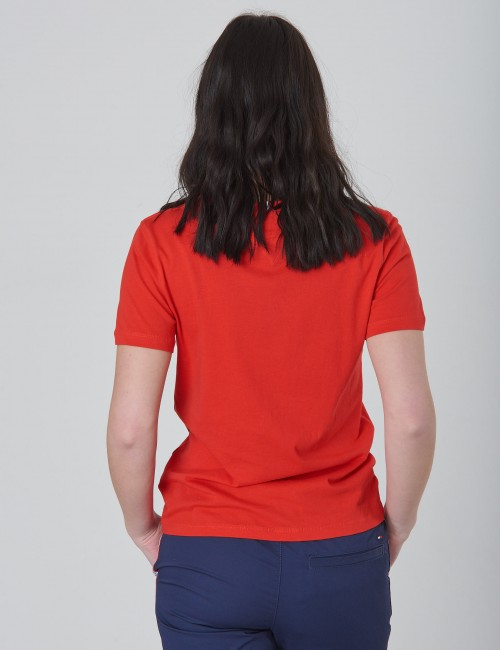 Tommy Hilfiger barnkläder - ESSENTIAL GLOBAL STRIPE TEE S/S