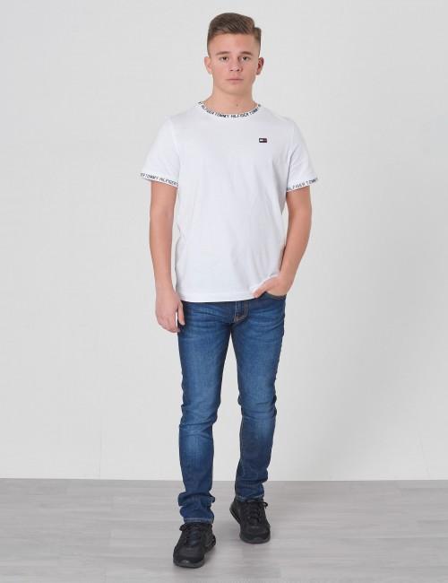 Tommy Hilfiger barnkläder - PRINTED RIB TEE S/S