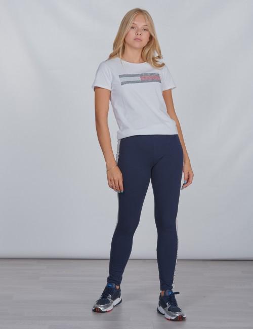 Tommy Hilfiger barnkläder - LUREX FLAG EMBROIDERY TEE S/S