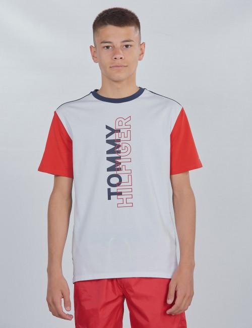 Tommy Hilfiger barnkläder - SPORT COLOR BLOCK TEE