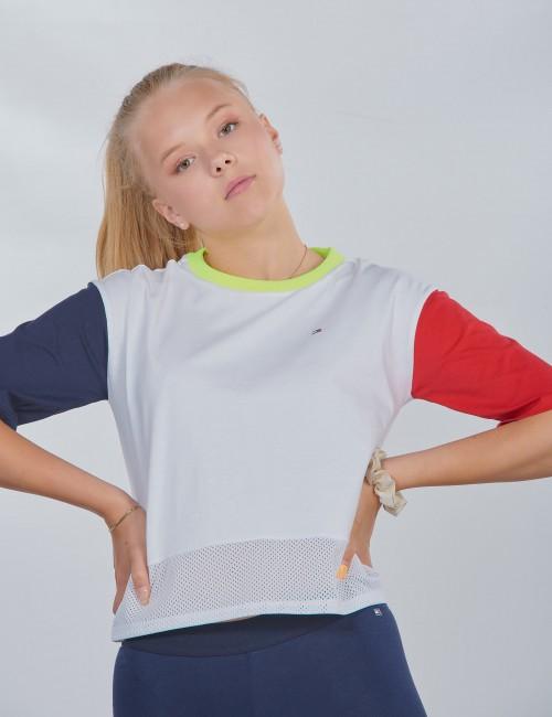 Tommy Hilfiger barnkläder - SPORT COLORBLOCK TEE