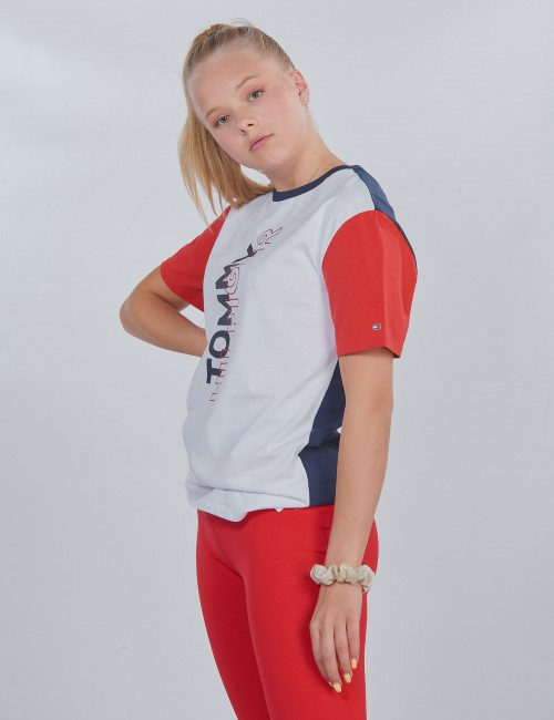 Tommy Hilfiger - SPORT COLOR BLOCK TEE
