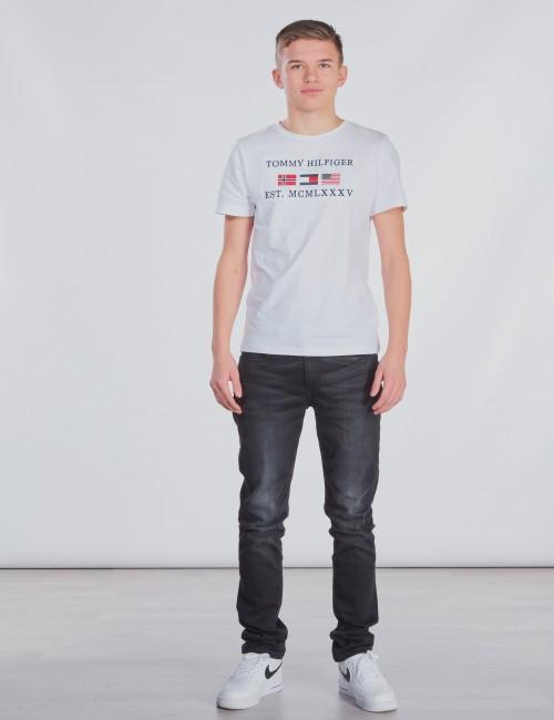Tommy Hilfiger barnkläder - FLAGS ALPINE TEE