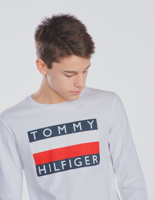Tommy Hilfiger - ESSENTIAL HILFIGER  TEE LONGSLEEVE