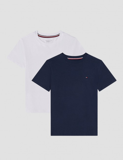 Cotton CN Tee 2 pack