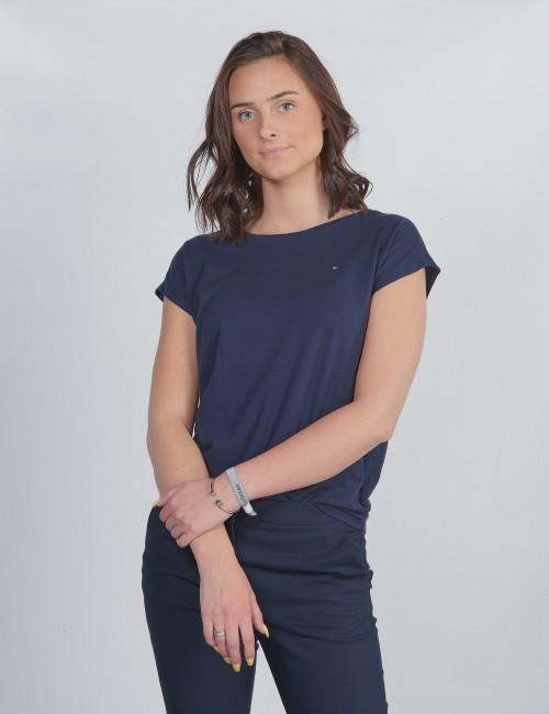 Tommy Hilfiger barnkläder - LACE TOMMY TAPE TEE S/S