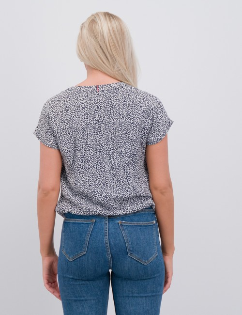 Tommy Hilfiger - DITSY FLOWER PRINT TOP