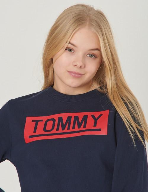 Tommy Hilfiger barnkläder - TOMMY SWEATSHIRT