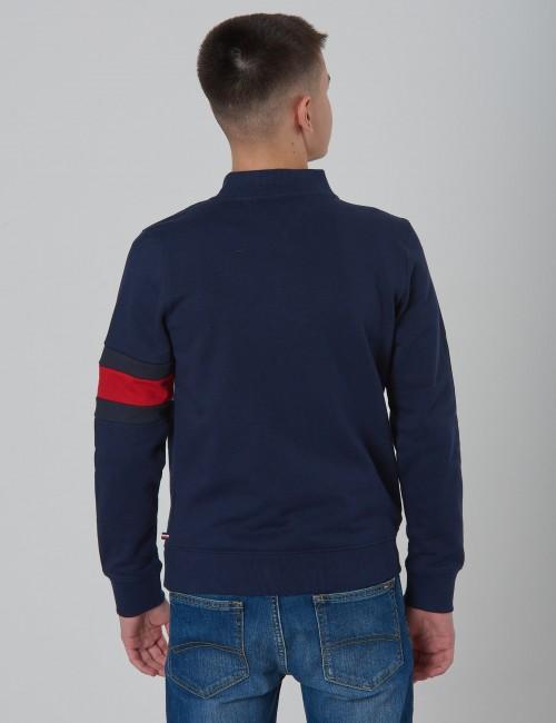 Tommy Hilfiger barnkläder - CUT + SEW FLAG TRACKTOP