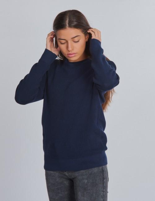 Tommy Hilfiger barnkläder - STRUCTURE WOVEN SWEATER