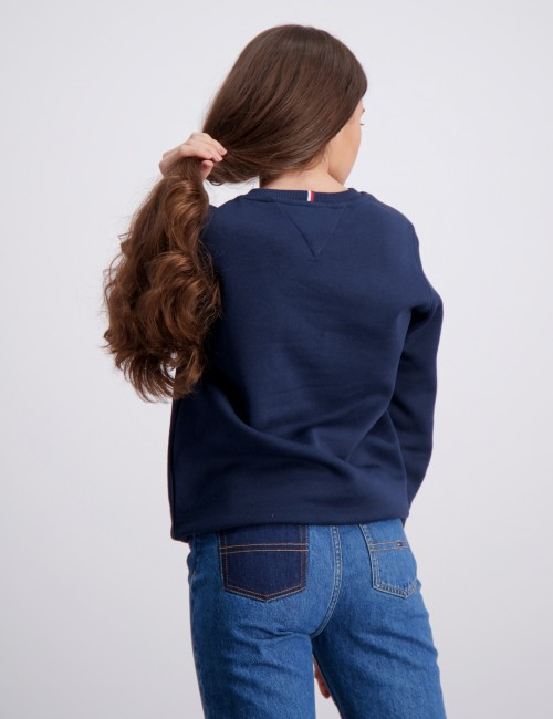 Tommy Hilfiger barnkläder - ESSENTIAL CREWNECK SWEATSHIRT