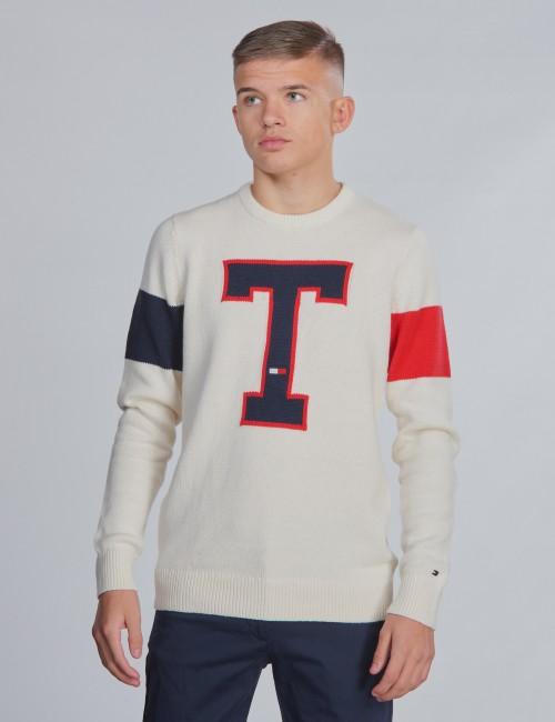 Tommy Hilfiger barnkläder - BADGE SWEATER